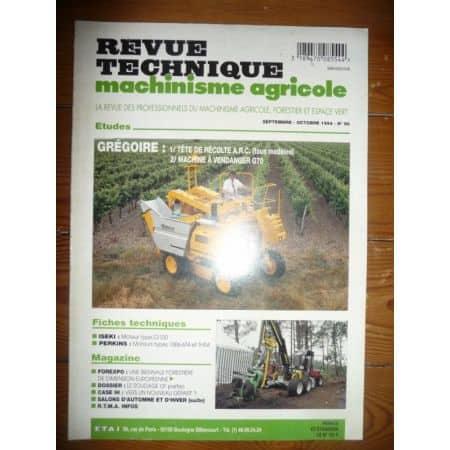 ARC G70 Revue Technique Agricole Gregoire