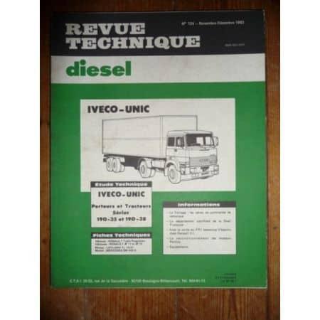 190-35 et 190-38 Revue Technique PL Iveco