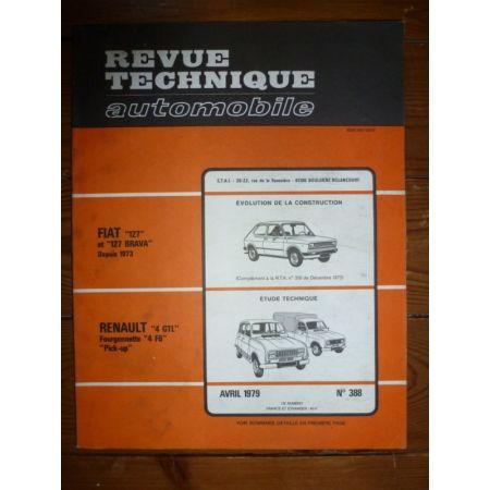 R4 F6 Revue Technique Renault