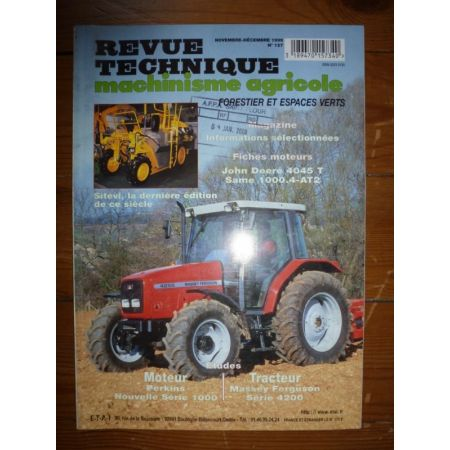 Série 4200 Revue Technique Agricole Massey Ferguson