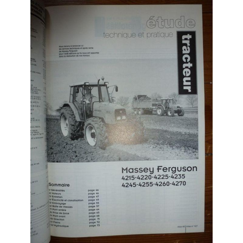 RTA Revue technique agricole MASSEY-FERGUSON Série 4200 ...