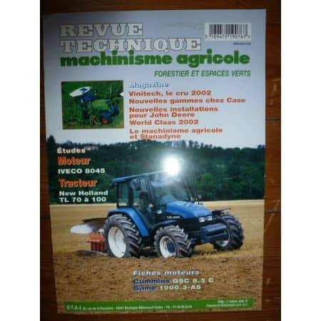 TL 70 à 100 Revue Technique Agricole New Holland