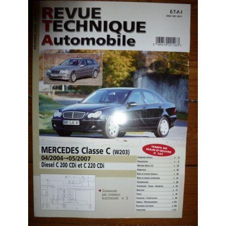 Classe C 04- W203 Revue Technique Mercedes