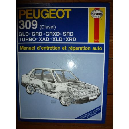 309 Die Revue Technique Haynes Peugeot