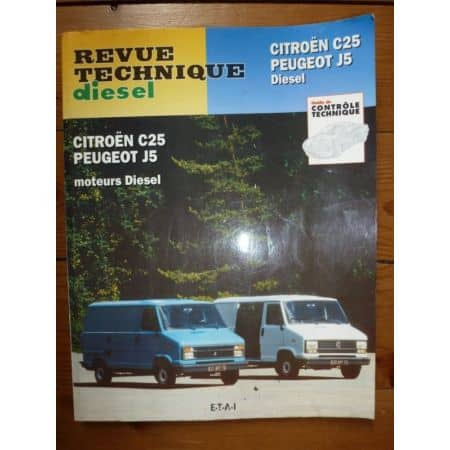 C25 J5 D Revue Technique Citroen Peugeot