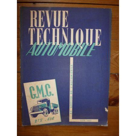 2.5T 6x6 Revue Technique PL Gmc