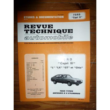 Capri II 4cyl Revue Technique Ford