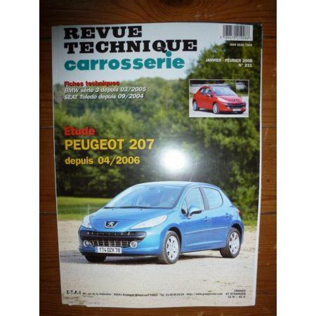 207 06- Revue Technique Carrosserie Peugeot