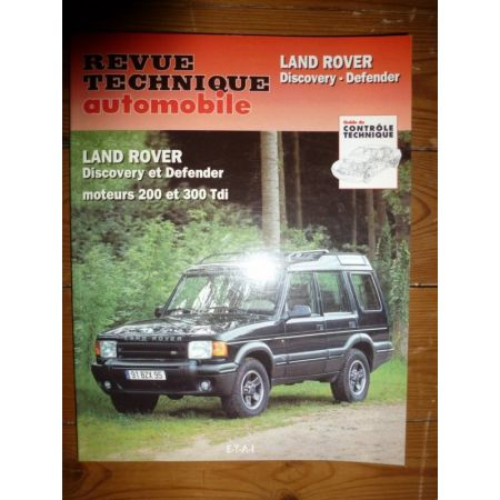 Defender Discovery Revue Technique Land rover