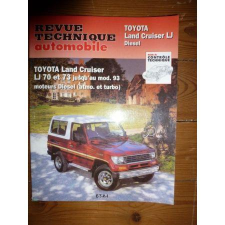 Land Cruiser -93 Diesel Revue Technique Toyota