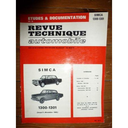 1300 1301 -69 Revue Technique Simca Talbot