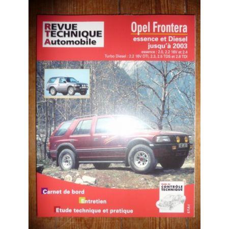 FRONTERA -03 Revue Technique Opel