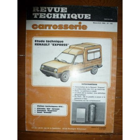 Express Revue Technique Carrosserie Renault