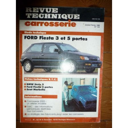 Fiesta Revue Technique Carrosserie Ford