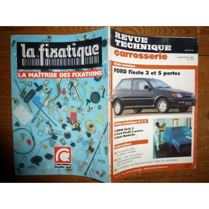 rta revue technique carrosserie ford fiesta 3 et 5 portes. Black Bedroom Furniture Sets. Home Design Ideas