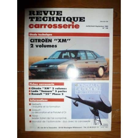 XM Revue Technique Carrosserie Citroen