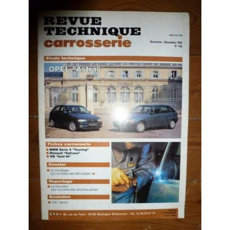 Astra Revue Technique Carrosserie Opel