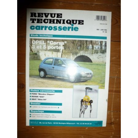 Corsa Revue Technique Carrosserie Opel