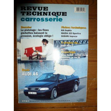 A4 Revue Technique Carrosserie Audi