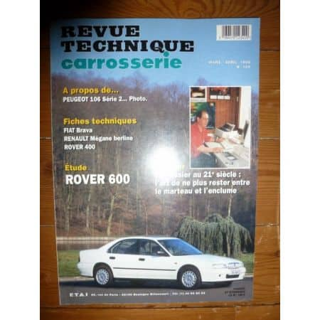 600 Revue Technique Carrosserie Rover MG