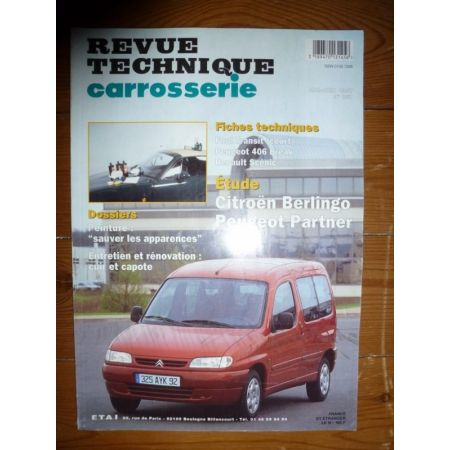 Berlingo Partner Revue Technique Carrosserie Citroen Peugeot