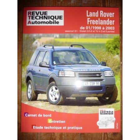 Freelander 98-03 Revue Technique Land rover