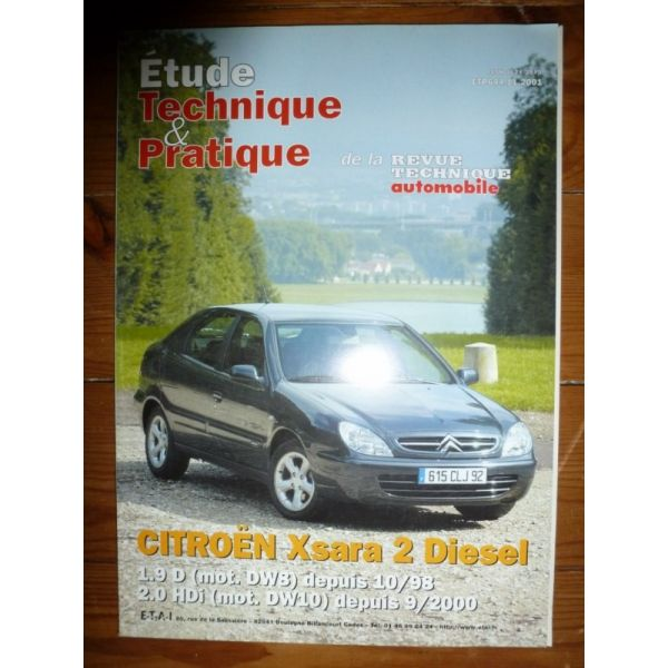citroen xsara ii diesel 1 9d moteur sw8 depuis 10 1998 2 0. Black Bedroom Furniture Sets. Home Design Ideas