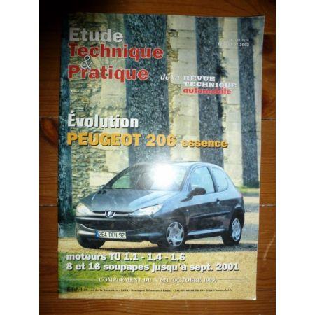 peugeot 206 essence moteur tu 8v et 16v jusqu 39 09 2001. Black Bedroom Furniture Sets. Home Design Ideas