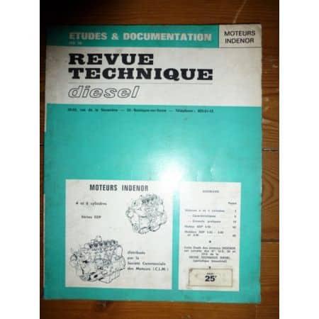 XDP 4 6 cyl Revue Technique Indenor