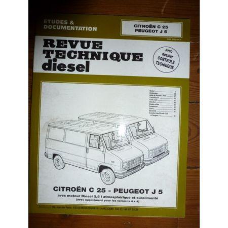 C25 J5 Revue Technique Citroen Peugeot