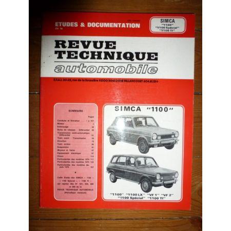 1100 Revue Technique Simca Talbot