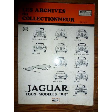 XK Revue Technique Les Archives Du Collectionneur Jaguar