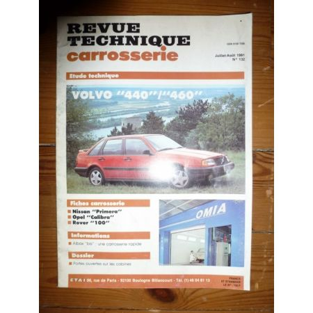 440 460 Revue Technique Carrosserie Volvo