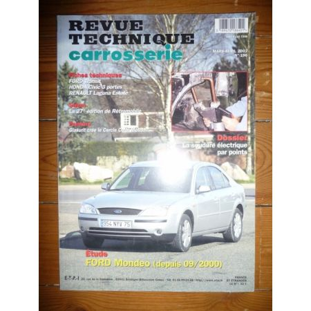 Mondeo 00- Revue Technique Carrosserie Ford