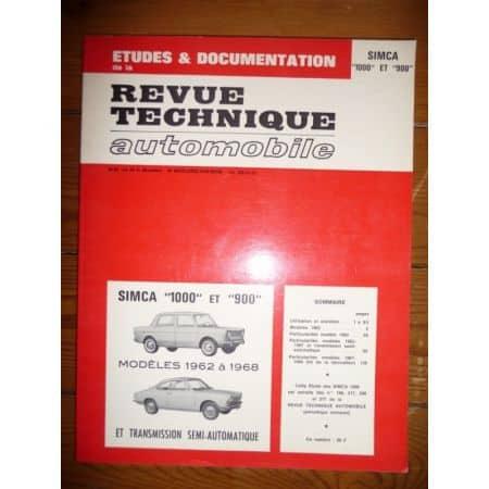 1000 900 Revue Technique Simca Talbot