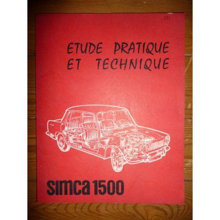 1500 Revue Technique Simca Talbot