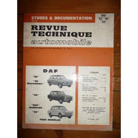 55 44 33 Revue Technique Daf