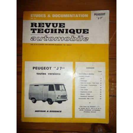 J7 Ess Revue Technique Peugeot