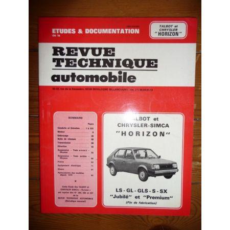 Horizon Revue Technique Chrysler Simca Talbot