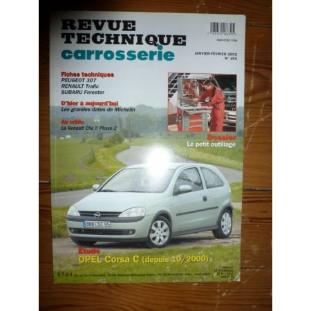 Corsa C 00- Revue Technique Carrosserie Opel
