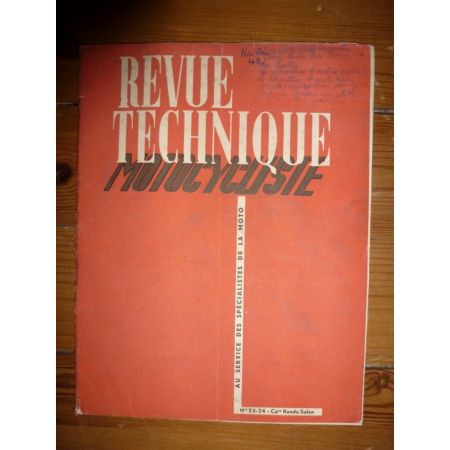Salon 1949 Revue Technique moto