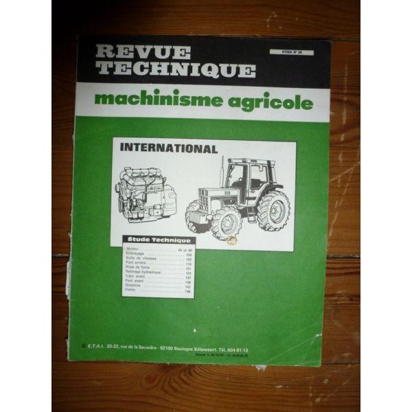Revue technique tracteur ih 1055