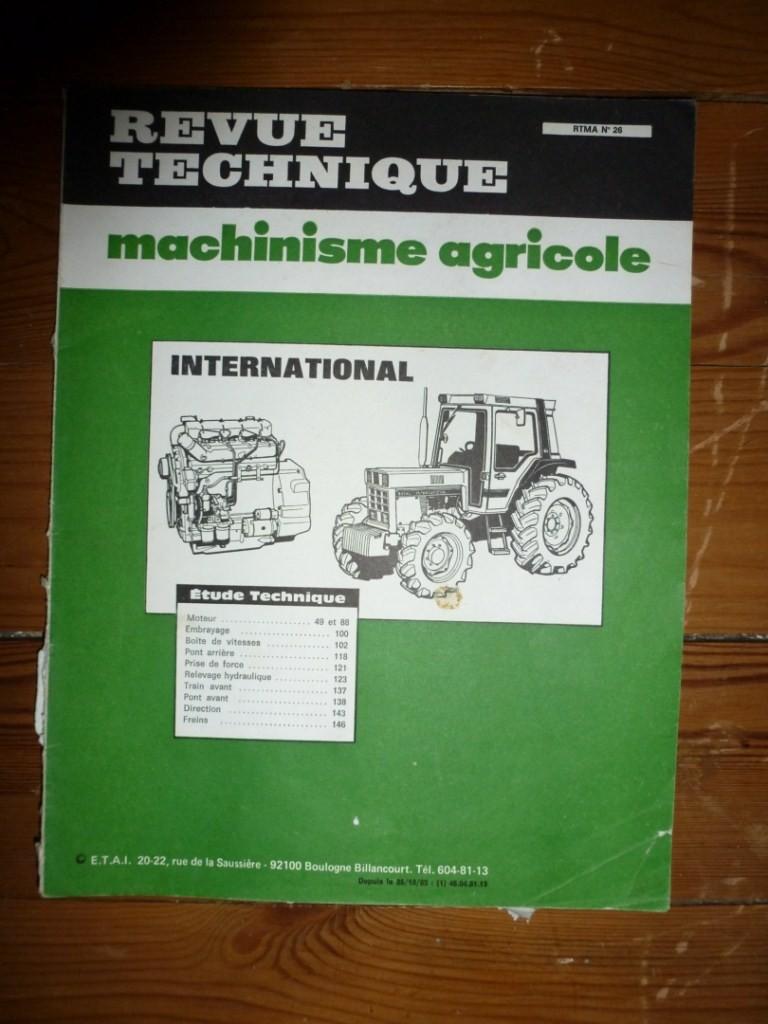 Ih 745 revue technique