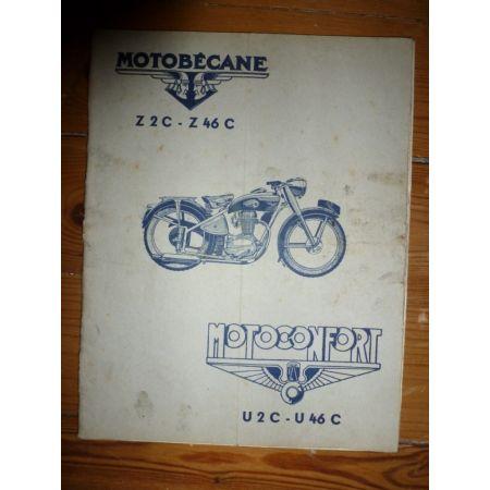 Z2C Z46C U2C U46C Revue Technique moto Motobecane