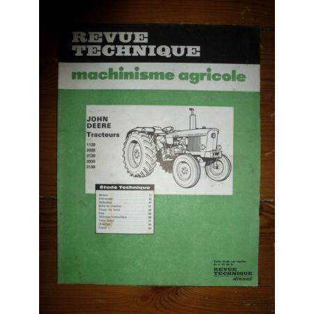 1120 2020 2120 2030 2130 Revue Technique Agricole John Deere