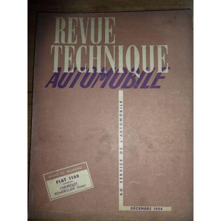 1100 Revue Technique Fiat
