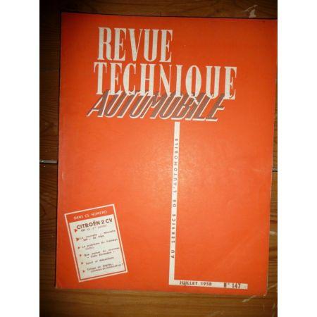 2CV Partie 1 Revue Technique Citroen
