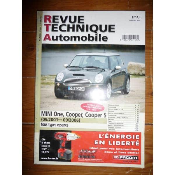 One-Cooper 01-06 Revue Technique Austin Mini Mg British Leyland bmw