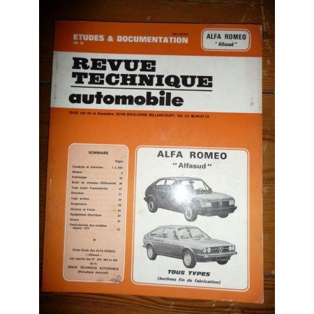 AlfaSud Revue Technique Alfa Romeo