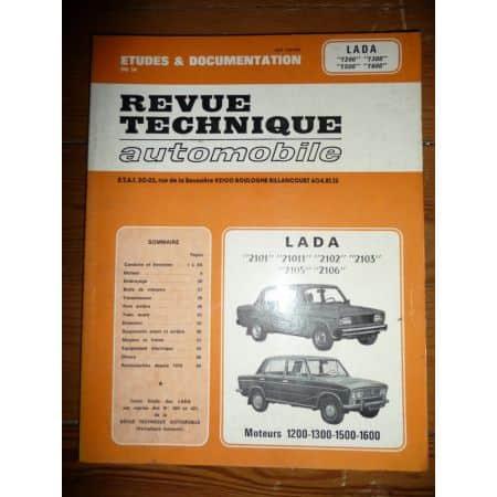 LADA 2101, 21011, 2102, 2103, 2105, 2106 - RRTA0360.2 Revue Technique Lada